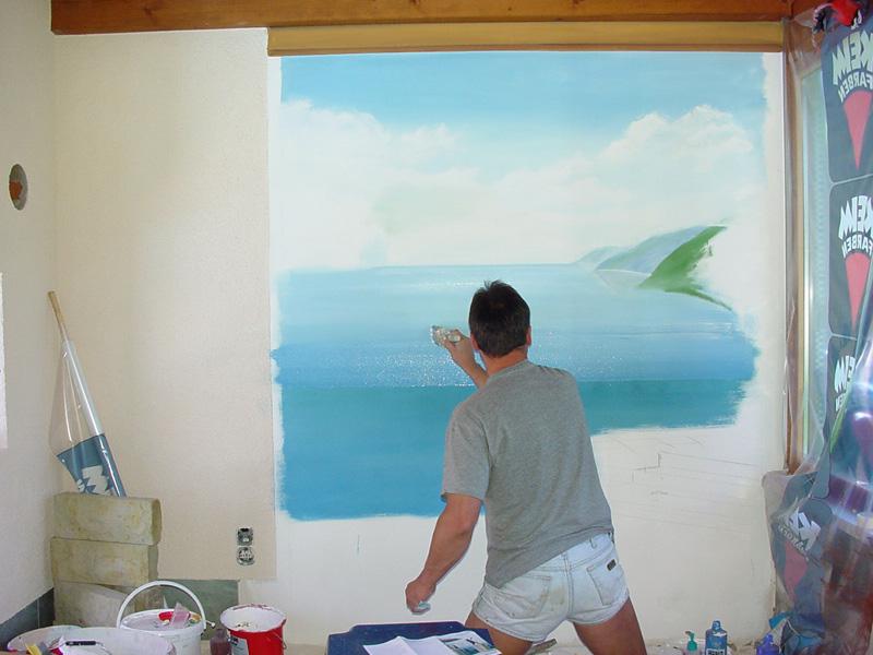 Kunstmalerei Schott   Andreas Schott   Leistungen / Wandmalerei,  Illusionsmalerei U0026 Dekorationsmalerei Vorher